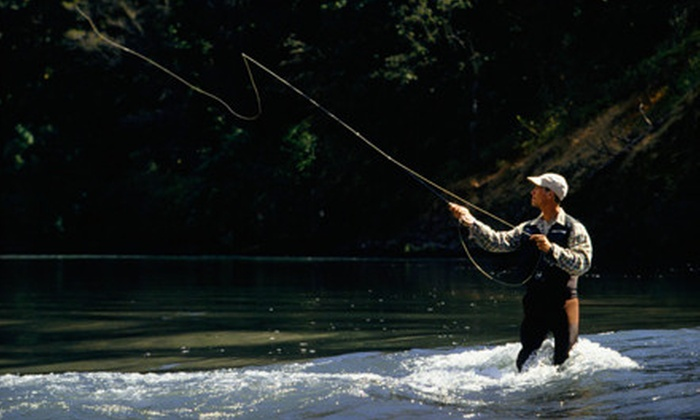 The Denver Fly Shop - Cory - Merrill: $125 for Introductory Fly-Fishing Package with Classes, Casting Session, and Gear at The Denver Fly Shop ($290.20 Value)