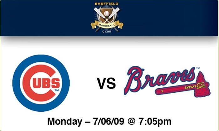 Sheffield Baseball Club - Lakeview: $89 Rooftop Tickets—Cubs vs Braves, 7/6/09, 7:05 p.m.