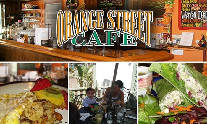 Orange Street Cafe - Ozona: $10 for $20 Worth of Organic Fare at Orange Street Café
