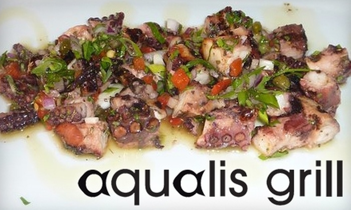 Aqualis Grill - Fort Greene: $15 for $30 Worth of Mediterranean-Inspired Cuisine and Drinks at Aqualis Grill in Brooklyn