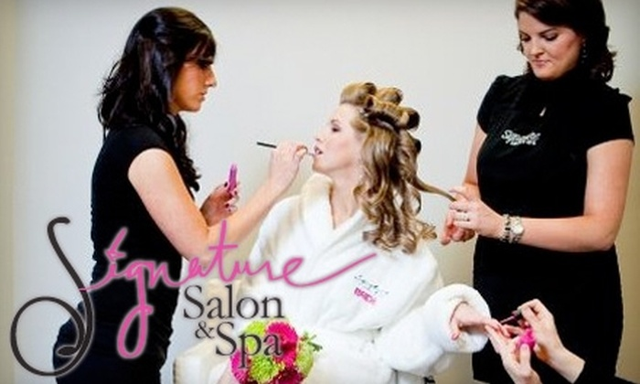Signature Salon & Spa - Macon: Services at Signature Salon & Spa (Up to $100 Value). Choose Between Two Options.