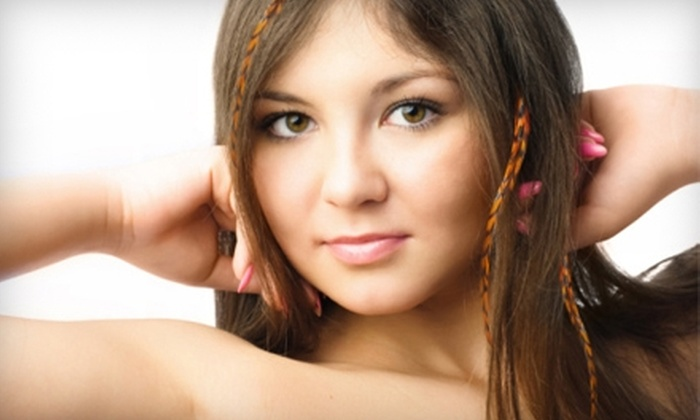 Classic Image, Inc. - Greenville: $15 for $30 Worth of Feather Hair Extensions at Classic Image, Inc. in Greenville