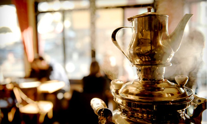 Samovar Tea Lounge - Multiple Locations: $25 for $55 Worth of Tea Service and Café Fare at Samovar Tea Lounge