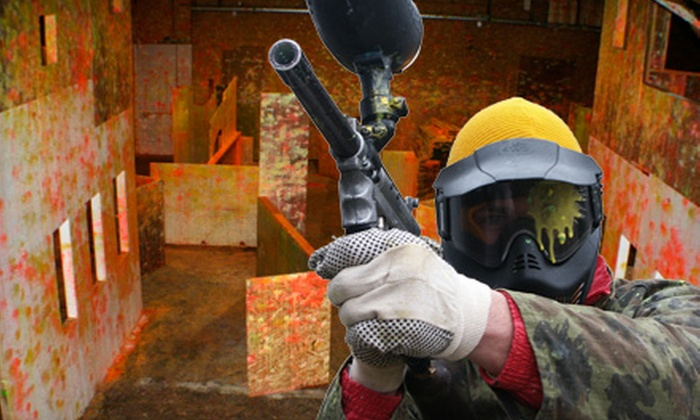 Prairie Storm Paintball - Regina: $15 for a Basic Paintball Package at Prairie Storm Paintball in Moose Jaw ($30 Value)
