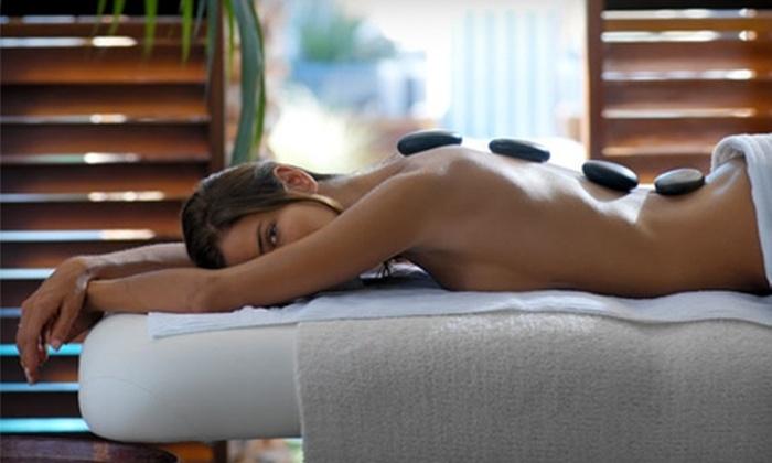 Anthony DeFranco Salon and Spa - Huntington Station: Hot-Stone Massage or Sports Massage at Anthony DeFranco Salon and Spa in Huntington Station