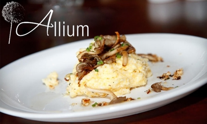 Allium - Willamette: $20 for $40 Worth of Upscale Fare and Drinks at Allium in West Linn