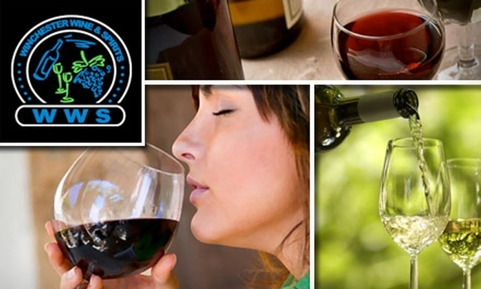 Winchester Wine and Spirits - Winchester: $20 Tasting Event on Saturday, March 6, or Saturday, March 13, Plus $10 Off Featured Wine Purchase at Winchester Wine & Spirits