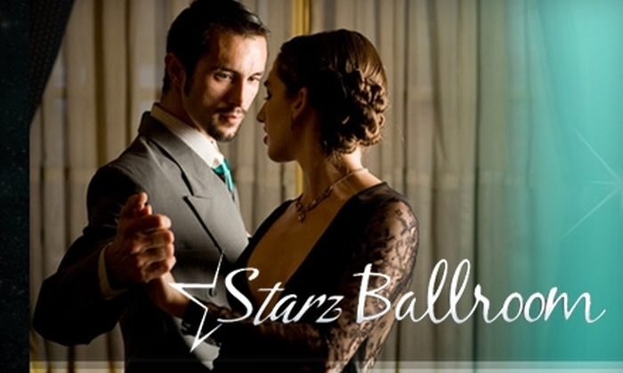Starz Ballroom - Cleveland: $40 for Three 40-Minute Group Lessons and Two 30-Minute Private Dance Lessons at Starz Ballroom ($130 Value)