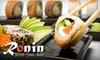 Inaugural Groupon Daytona Beach Deal: $10 for Fare at Ronin Sushi + Sake Bar