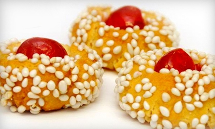 Palermo Bakery - Multiple Locations: $10 for $20 Worth of Authentic Sicilian Cookies and Pastries at Palermo Bakery