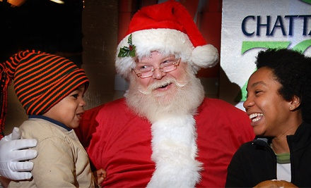 Chattanooga Zoo: Holiday Lights at the Zoo on December 9, 10, 16, and 17, from 5:30 p.m. to 8:30 p.m. - Chattanooga Zoo in Chattanooga