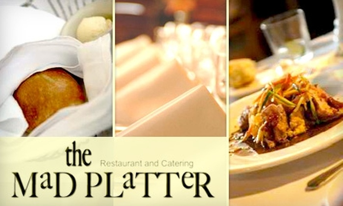 The Mad Platter Restaurant & Catering - Germantown: $25 for $50 Worth of Regional American Fare and Drinks at The Mad Platter Restaurant & Catering