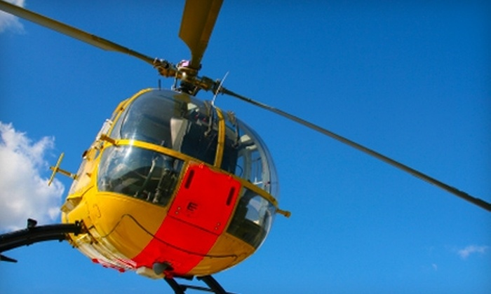 Scottsdale Helicopter Services - North Scottsdale: $149 for Helicopter Tour of Downtown Phoenix for Up to Three People from Scottsdale Helicopter Services in Scottsdale (Up to $309 Value)