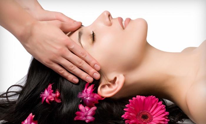 MiraBella Salon & Spa - Boise City: $30 for a Seaweed Body Wrap and Scalp Massage at MiraBella Salon & Spa ($75 Value)