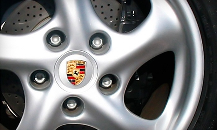 Dr. Wheel - Multiple Locations: $150 for Cosmetic Wheel Repair for Two Wheels from Dr. Wheel (Up to $300 Value)
