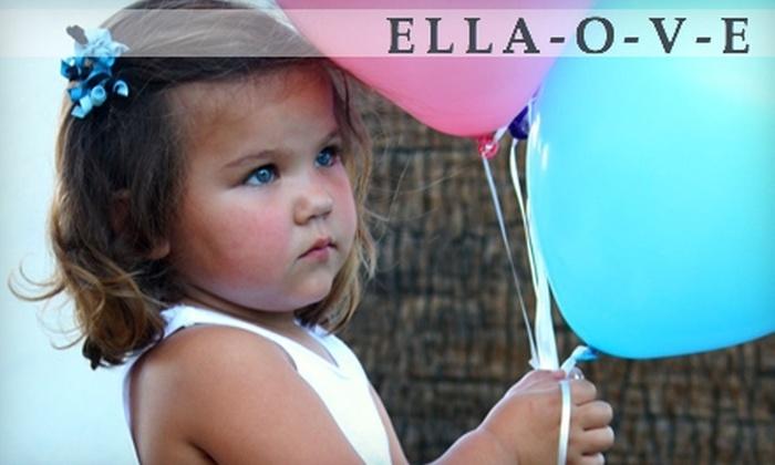 Ella-O-V-E: $15 for $30 Worth of Apparel and Accessories from Ella-O-V-E
