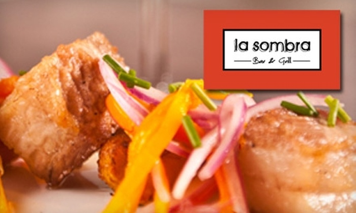 La Sombra Bar & Grill - Brentwood: $15 for $30 Worth of Latin Fare at La Sombra Bar & Grill