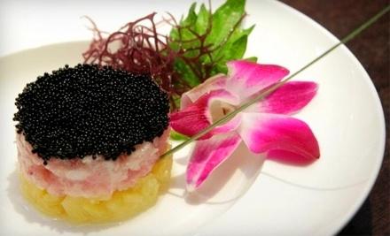 $40 Groupon to Aja Asian Cuisine & Lounge - Aja Asian Cuisine & Lounge in New York