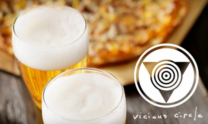 Vicious Circle - Beltline: $14 for $30 Worth of International Eats and Drinks at Vicious Circle