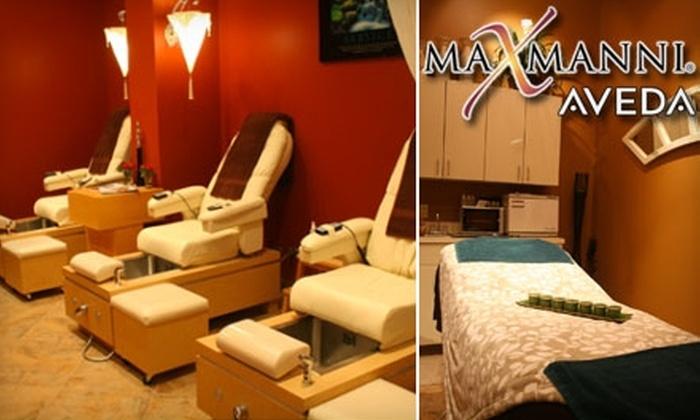 MaxManni - McKees Rocks: $40 Swedish Massage or $35 Signature Mani-Pedi at MaxManni
