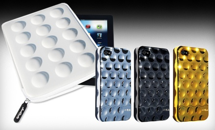 Bubble-Slider iPhone 4 Soft-Touch Case with Shipping in Black (a $34.95 value) - Hard Candy Cases in