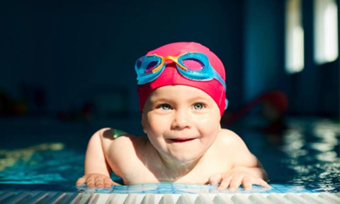 Aqua-Tots Swim School - Multiple Locations: $29 for One Month of Swim Lessons at Aqua-Tots Swim School (Up to $70 Value)