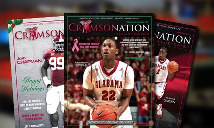 """Crimson Nation Illustrated: $25 for a One-Year Subscription to """"Crimson Nation Illustrated"""" ($60 Value)"""
