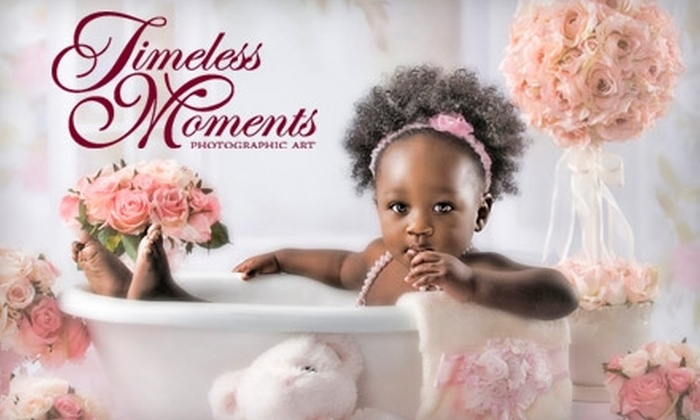 Timeless Moments Photographic Art - Virginia Beach: Portrait Package from Timeless Moments Photographic Art. Choose from Two Options.