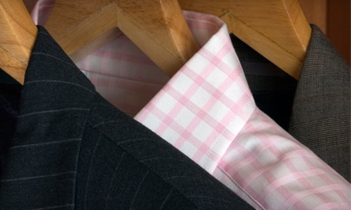 Alpha Cleaners - Laguna Hills: $10 for $20 Worth of Dry Cleaning at Alpha Cleaners in Laguna Hills