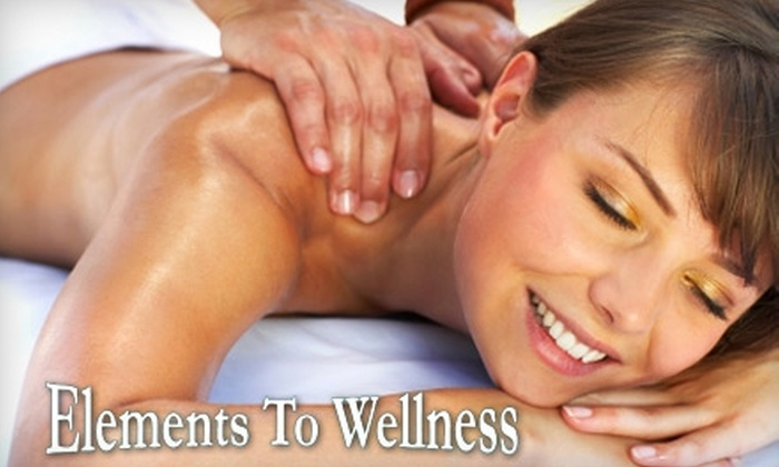 Elements To Wellness - Exeter: $27 for a 60-Minute Therapeutic Massage at Elements to Wellness ($55 Value)