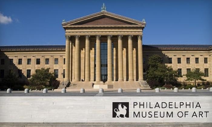 Philadelphia Museum of Art - Fairmount/Art Museum: $32 Four-Pack of General Admissions to the Philadelphia Museum of Art (Up to $64 Value)