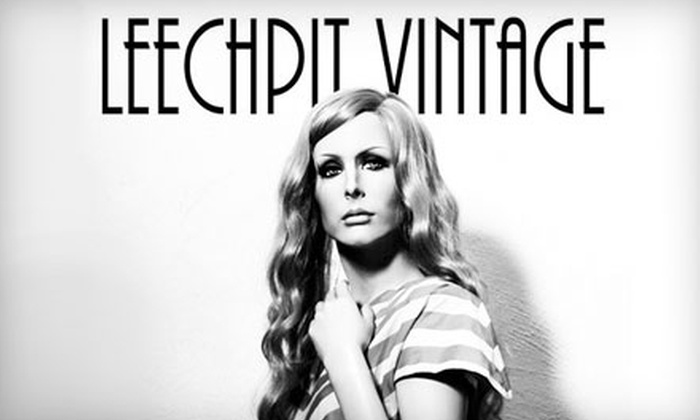 The Leechpit - East Colorado Springs: $10 for $20 Worth of Vintage Clothing, Records, and More at The Leechpit