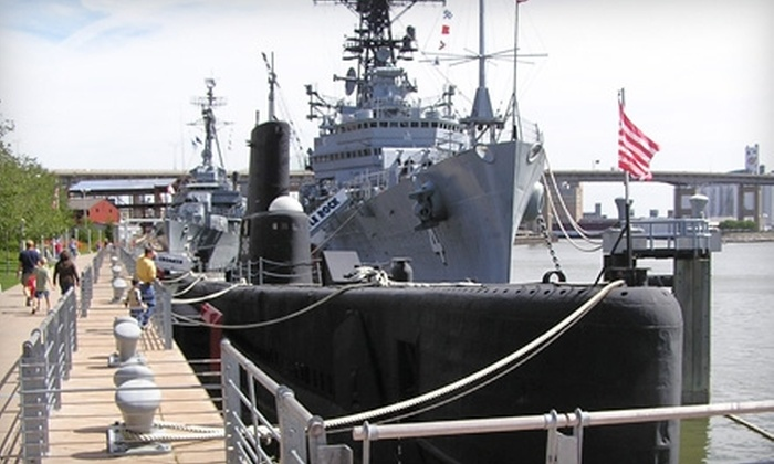 Buffalo and Erie County Naval & Military Park - Waterfront: One Adult Admission or Memberships to the Buffalo and Erie County Naval & Military Park. Three Options Available.