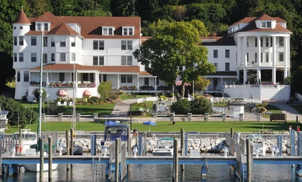 Option 1: Valid on Select Weekday Dates Between 5/13 and 10/25 - Island House Hotel in Mackinac Island