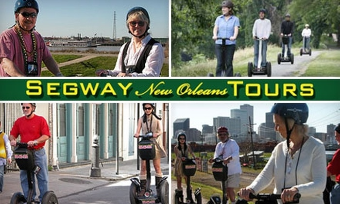Segway New Orleans Tours - French Quarter: $35 for a Two-Hour Tour of New Orleans from Segway New Orleans Tours ($70 Value)