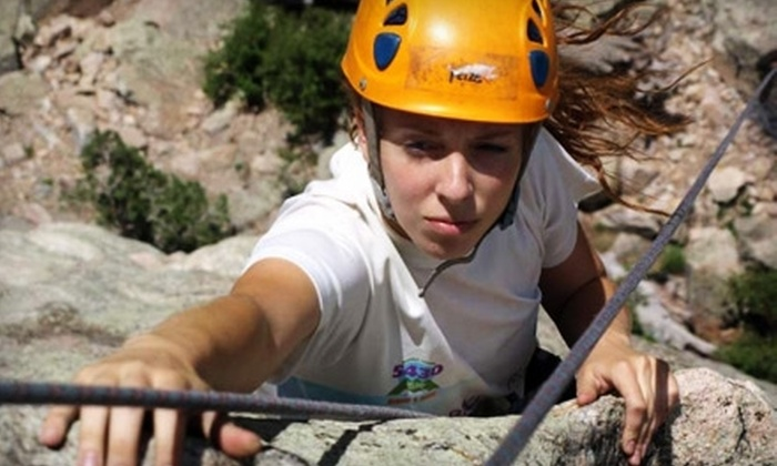Natural Fitness Guided Adventures - Multiple Locations: $49 for a Rock-Climbing-Basics Course, Plus $49 Toward Summit Trip, at Apex Ex