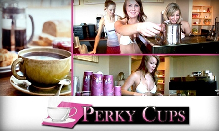 Perky Cups - Heather Ridge: $5 for $10 Worth of Coffee and Pastries at Perky Cups