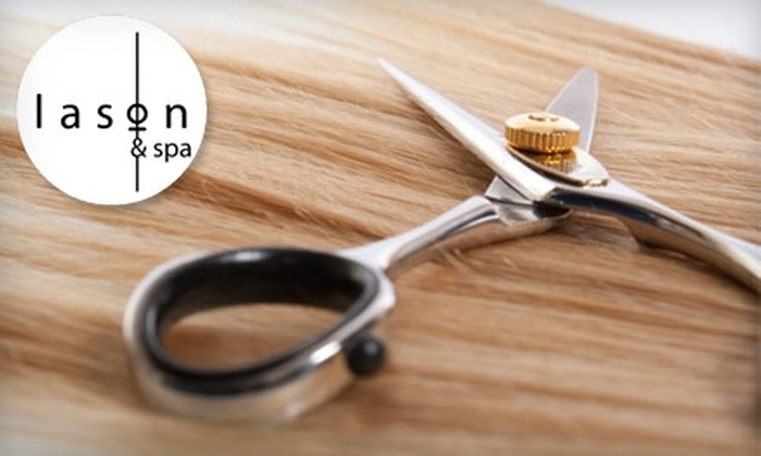 Lason and Spa - Lincoln: $25 for $50 Worth of Cutting and Coloring Services at Lason and Spa