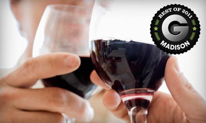 Von Klaus Winery Tasting Haus - Baraboo: $29 for Four-Course Wine Tasting with Appetizer Pairings for Two at Von Klaus Winery Tasting Haus in Baraboo ($60 Value)
