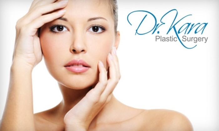 Dr. Kara Plastic Surgery - Whitby: $55 for Microdermabrasion or a Chemical Peel at Dr. Kara Plastic Surgery in Whitby ($135.60 Value)