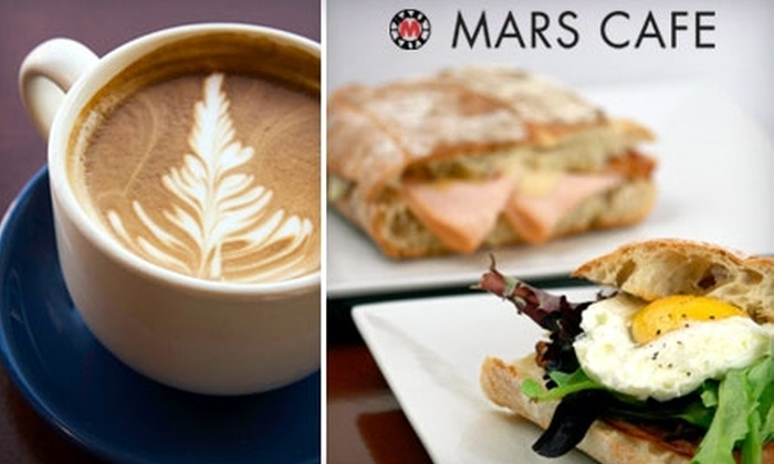 Mars Cafe - Carpenter: $6 for $12 Worth of Coffee and Cafe Fare at Mars Cafe