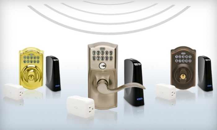 Schlage: $199 for a Wireless Keypad-Lock Starter Kit and Subscription to Schlage Link Home Management System from Schlage ($432.91 Value)