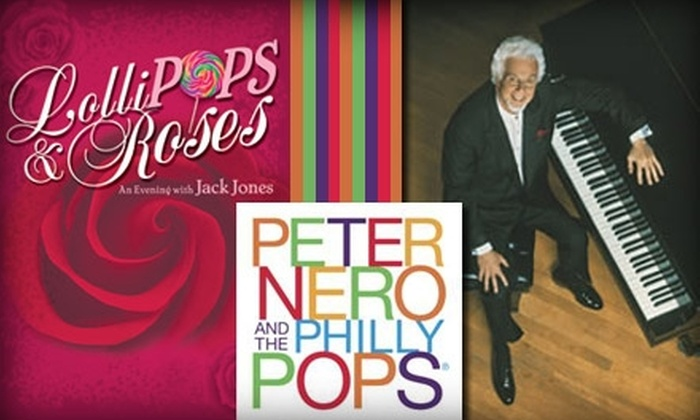 The Philadelphia Orchestra - Rittenhouse Square: Half Off Tickets to See Peter Nero and The Philly Pops on Wednesday, February 24. Buy Here for a $29 Second Tier Rows A–D Ticket ($58 value). See Below for Additional Prices and Seating Options.