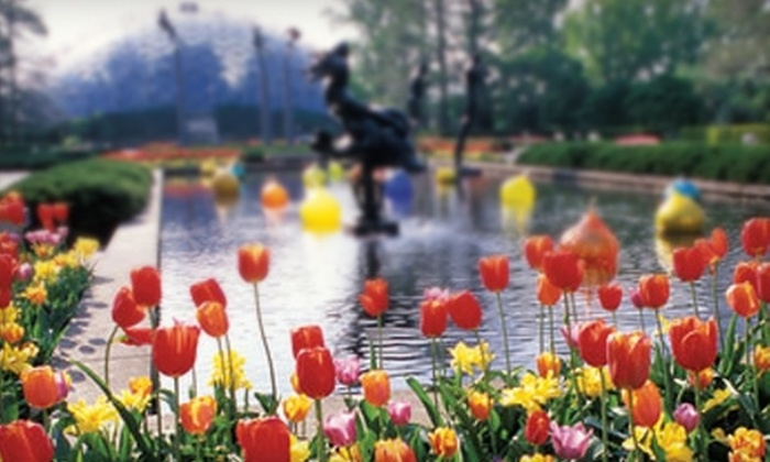 $9 For Missouri Botanical Garden Ticket