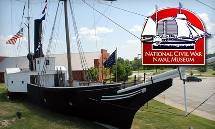 The National Civil War Naval Museum - Columbus: $12 for a Shipmate Membership to The National Civil War Naval Museum