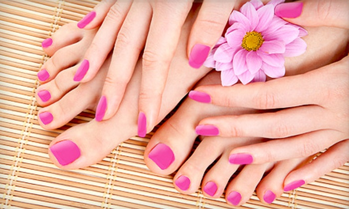 The Nail Nook - Dilworth: $35 for a Spa Mani-Pedi at The Nail Nook ($81 Value)