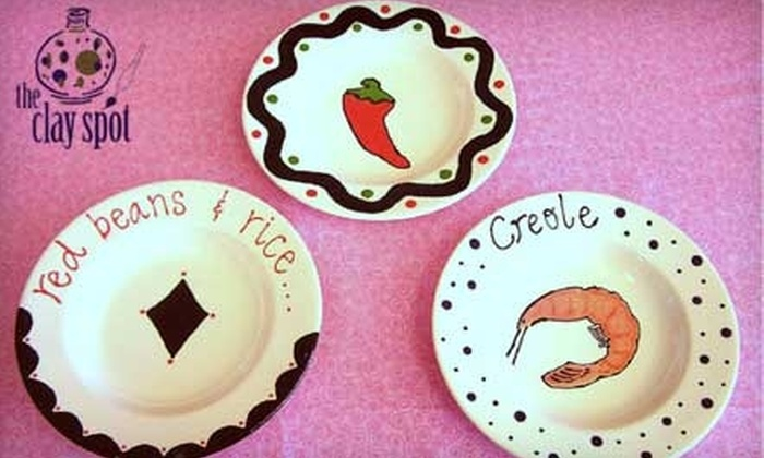 The Clay Spot - Sherwood: $10 for $20 Worth of Pottery Painting at The Clay Spot