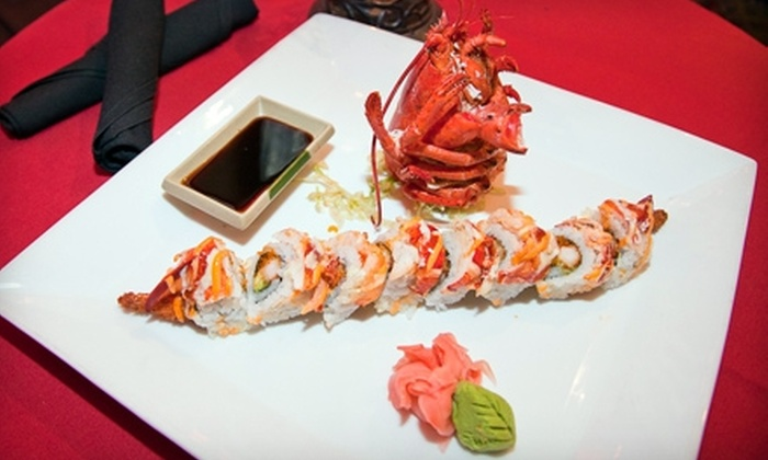 Off the Hookah - Fort Lauderdale: $10 for $20 Worth of Mediterranean and Japanese Fare and Hookah at Off the Hookah