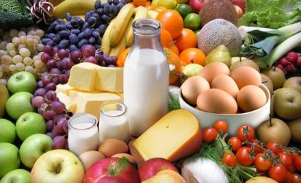 $25 Groupon to Mile High Organics - Mile High Organics in