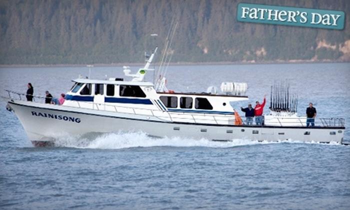 Seward Fishing Club - Seward: $120 for a Six-Hour Salmon Fishing Charter Trip from Seward Fishing Club ($241.43 Value)